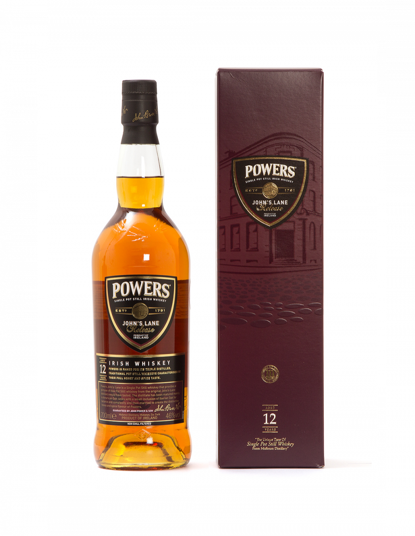 Powers Johns Lane 12 Year Old - Old Bottle