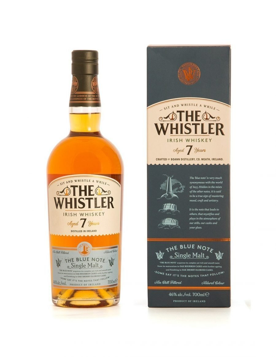 The Whistler 7 Year Old Single Malt - The Blue Note