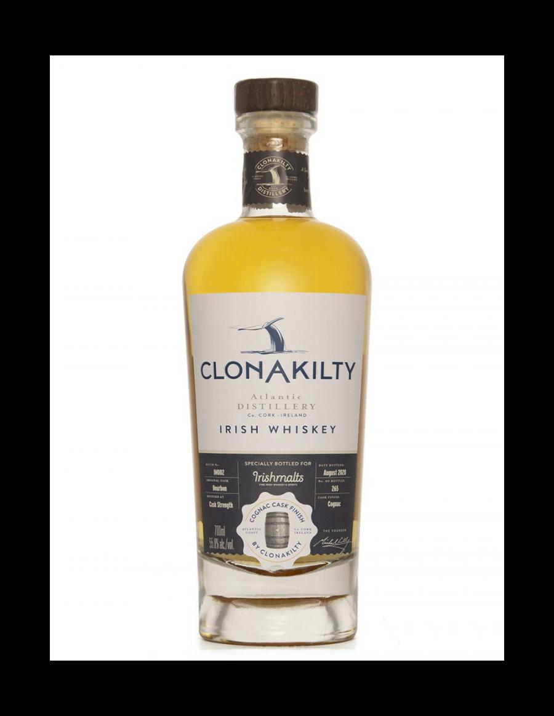 Clonakilty Single Cask Cognac Finish Cask Strength