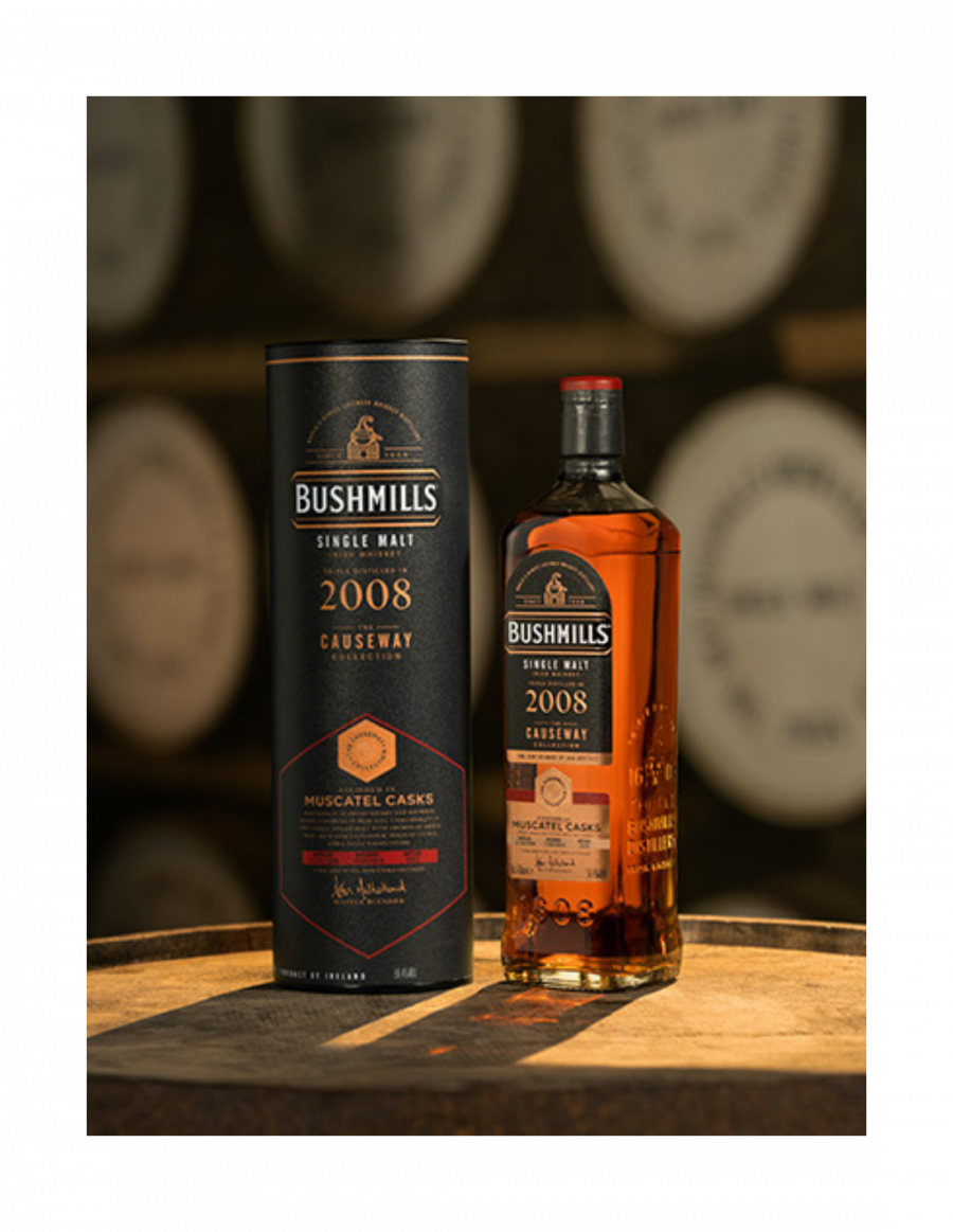 Bushmills 'The 2008 Muscatel Cask' - Causeway Collection