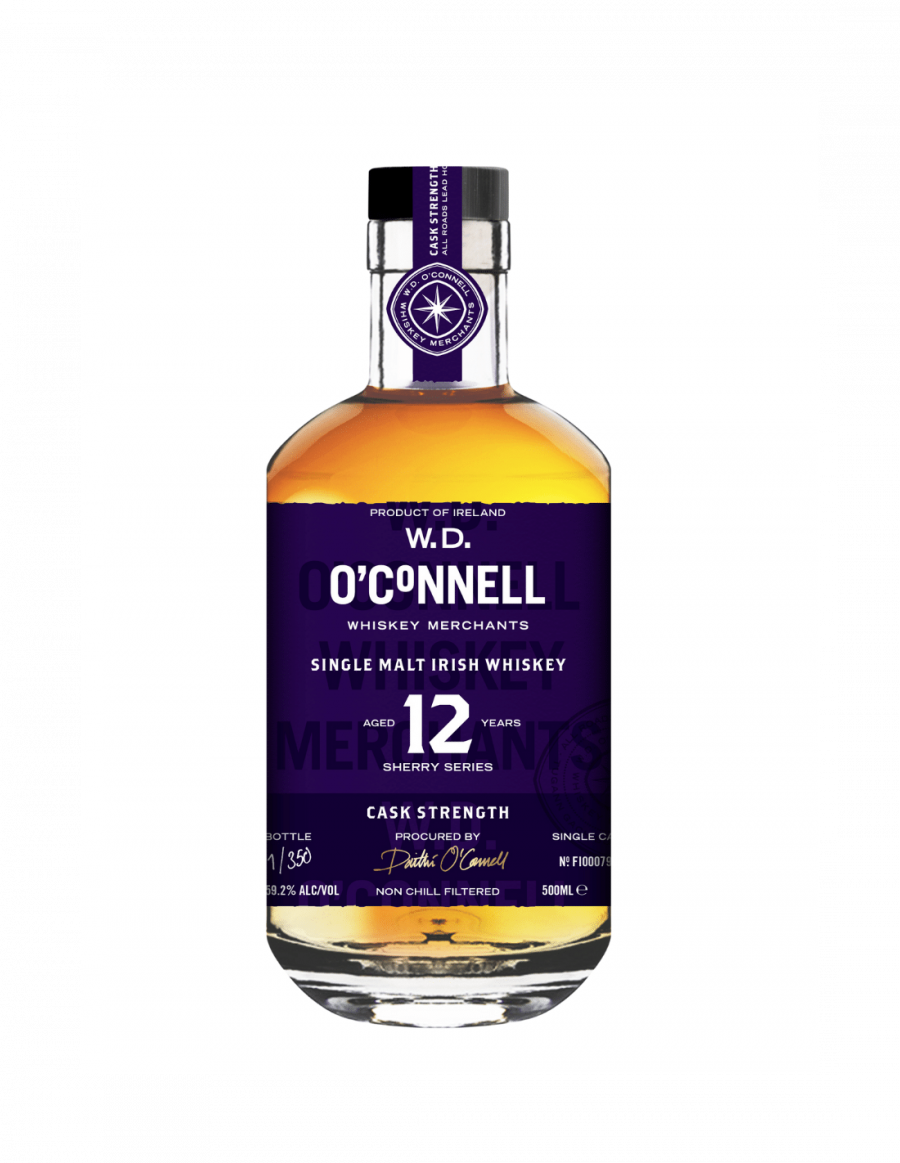 W.D. O'Connell 12 Year Old All Sherry Cask Strength
