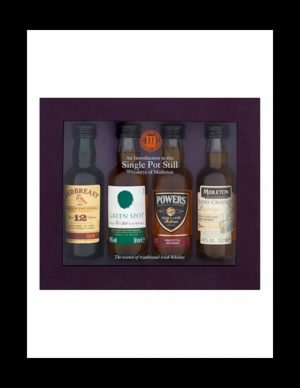 Whiskeys of Midleton Single Pot Still Gift Set 4 x 5cl